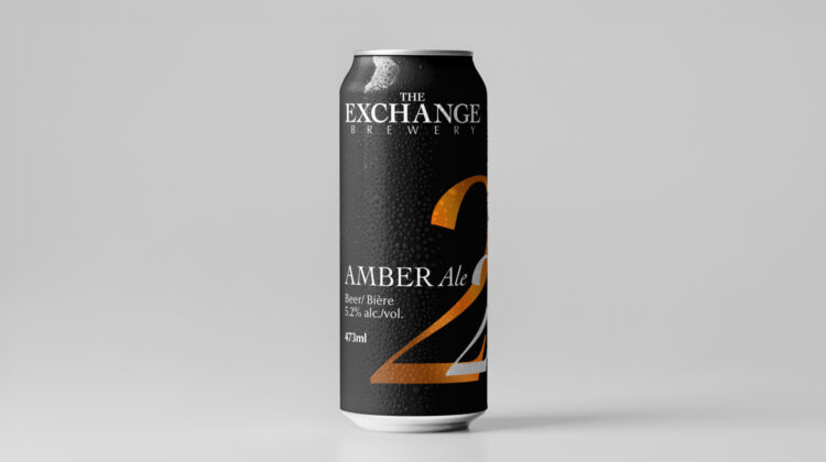 Amber Ale cans