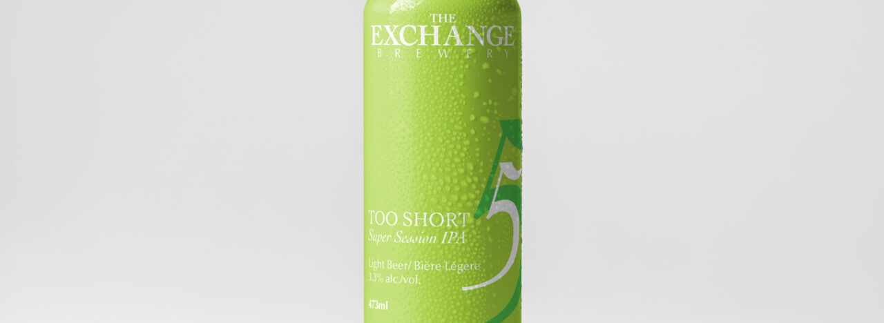 The Exchange Brewery Too Short IPA